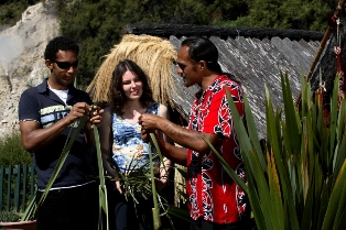 Join ANZ special interest tours to Whakarewarewa Village