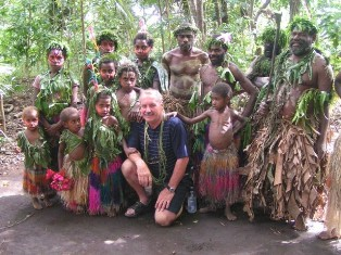 Travel the Pacific Islands and Vanuatu with our tour guide Kar