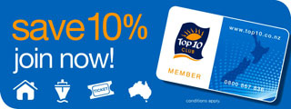Join the Top 10 Club for discounts and savings