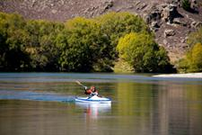 Kayak on the Clutha River
