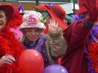 Alexandra Blossom Festival - Red Hat Ladies