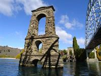 Alexandra Historic Bridge Piers - Clutha River