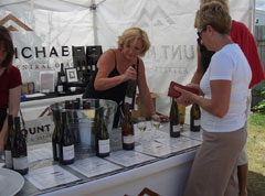 Vino and Victuals Wine & Food Festival is held in the picturesque grounds of Old Cromwell Town Historic Precinct