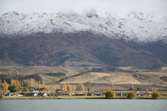 spectacular views Pisa moorings, central otago