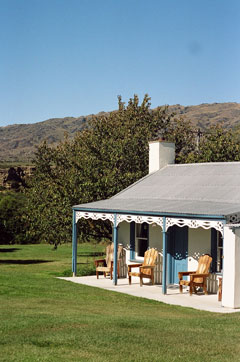 Splendid scenic villa in otago new zealand, patearoa