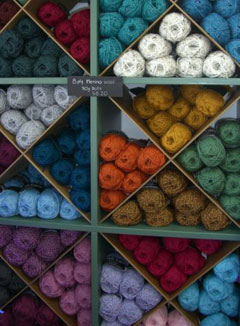 Marnie began producing her superfine kid mohair, merino and polwarth wools in 1991