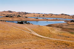 Excellant fishing opportunities on Poolburn Dam