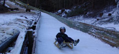 Naseby Luge in Central Otago