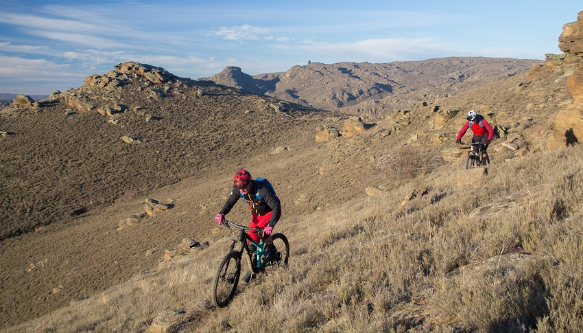 Flat Top Hill - Mountain Biking - Alexandra