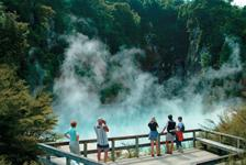 Geothermal wonders in central North Island - Photography by Tourism New Zealand