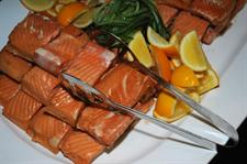 Fine fresh New Zealand Salmon