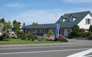 Quiet motel accommodation in Invercargill, New Zealand.