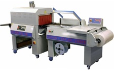 Semi-Automatic L-Bar Sealer and Shrink Wrapper