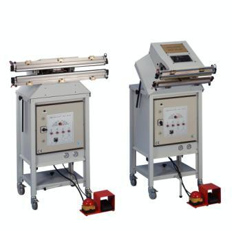 VI 475 and VI 750 Gas Flush Vacuum Impulse Sealer