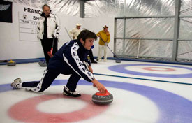 Learning Curling from a pro