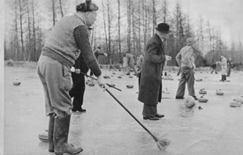 Historic Outdoor Curling Image