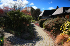 Path to the Villas at Distinction Te Anau & Villas