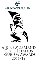 Winner of the Air New Zealand Cook Islands Tourism Awards 2011/12 for Festival & Event Organisation Category