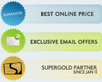 Best Online Price Guarantee, Exclusive email offers & Super Gold Card Offers