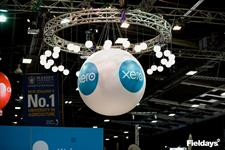 Principal Partner Xero in the Mystery Creek Pavilion