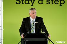 CEO Peter Nation at Fieldays opening