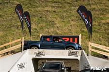 Taking on the Isuzu off-road track