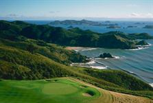 Waiaua Bay with Golf Green