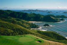 Waiaua Bay and Golf Green