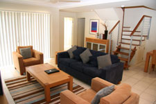 Lounge in Beachside at Yamba Apartment