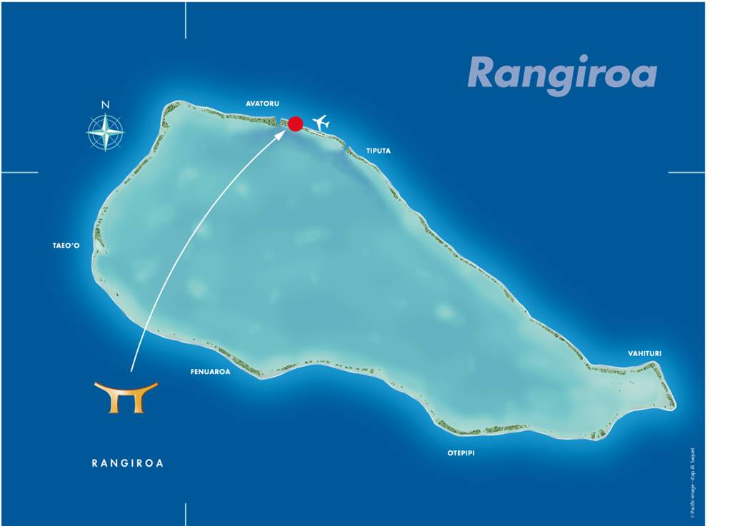 Rangiroa French Polynesia  city photos gallery : Our Rangiroa Location | French Polynesia Hotel Accommodation | Hotel ...