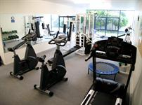 On-site gym for your convenience