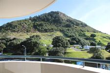 View of Mt Maunganui from the resort