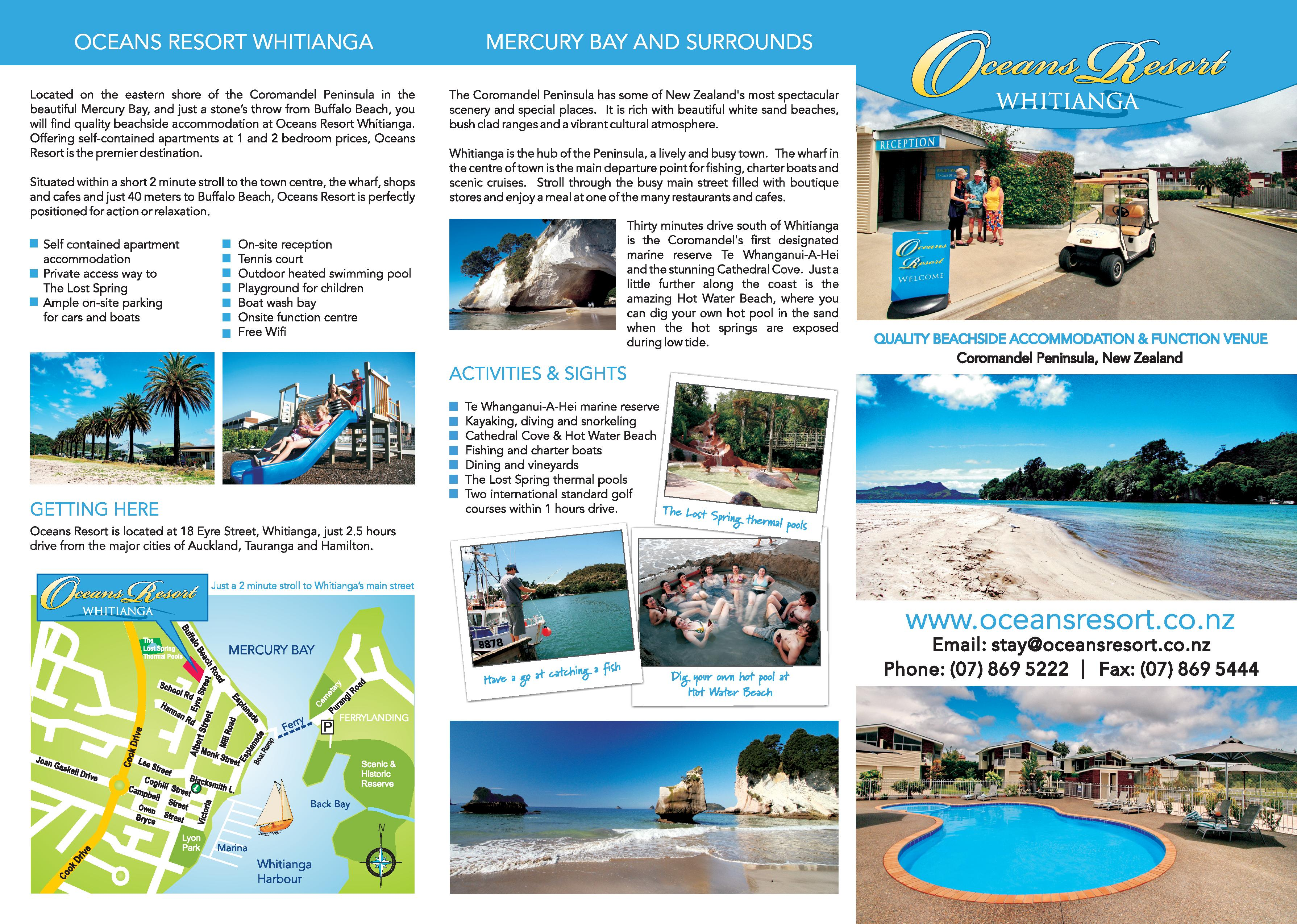 Our Facilities Whitianga Apartment Accommodation