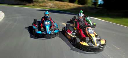 Raceline Karting Team Race back corners