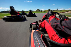 Raceline Karting Drivers View