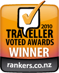 On Yer Bike! Winners of the 2010 Travellers Voted Awards