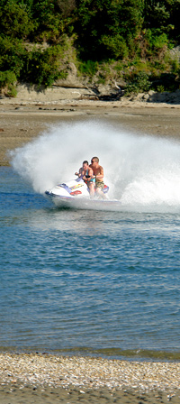 Local activities include cycling, surfing, watersports, and even skiing and snowboarding