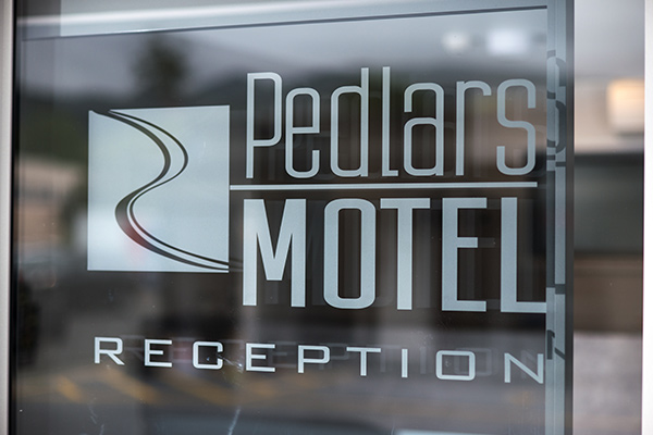 Pedlars Motel Reception