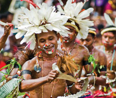 Experience culture in Papua New Guinea