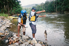 Fishing in Papua New Guinea