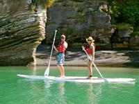 Stand up paddle boarding fun