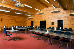 Lakes Lodge conference room