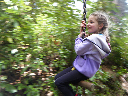 Fun for kids at staglands nature reserve
