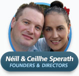Néill and Ceillhe Sperath from TIME Unlimited Tours New Zealand