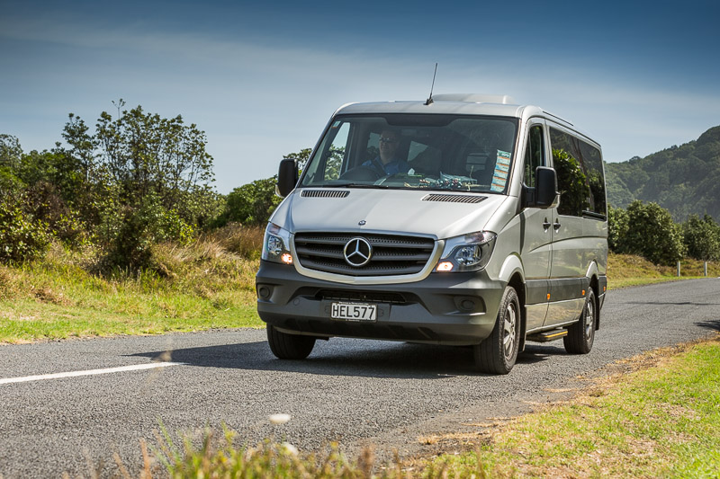 Luxury Mercedes Sprinter vehicles for up to 11 passengers