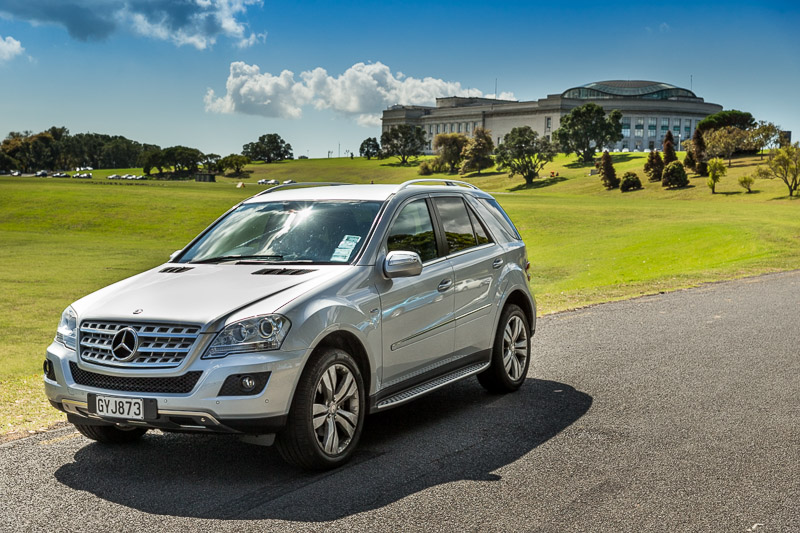 Luxury Mercedes ML - 4 Wheel Drive Mercedes for up to 4 passengers