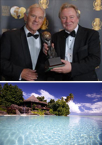 Pacific Resort chief executive officer Greg Stanaway says this award is considered to be a significant achievement for Pacific Resort Aitutaki.