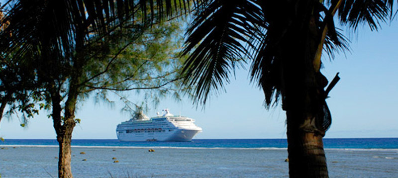 Information about entry to visitors to the Cook Islands