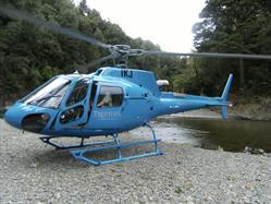 Helicopter adventures with Treetops Lodge Rotorua
