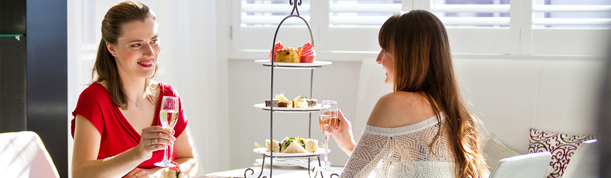 Halo's High Tea at Trinity Wharf Tauranga is to be enjoyed overlooking the harbour.  Whether for a special occasion, some self indulgence with a best friend or an office outing, Halo's High Tea is a real treat.